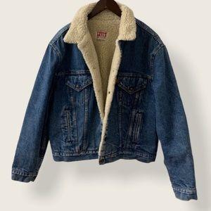 Levi's Vintage San Francisco Sherpa Denim Jacket